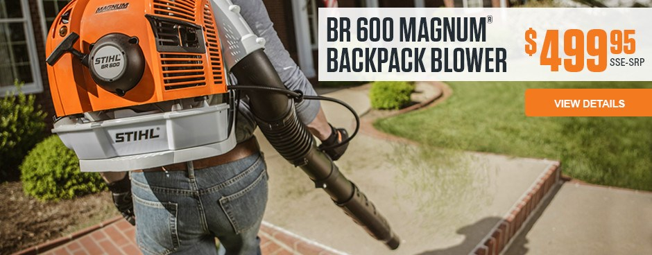 BR 600 MAGNUM BACKPACK BLOWER